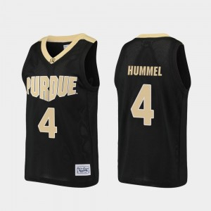 Black Robbie Hummel Purdue Jersey Alumni For Men's Basketball #4 619580-290