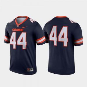 Syracuse Jersey College Football #44 Men Legend Navy 329107-997