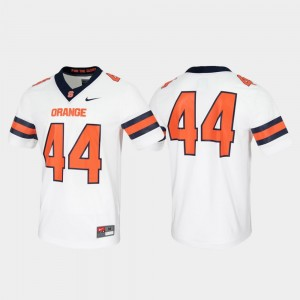 White Untouchable Game Syracuse Jersey For Men's #44 916405-951