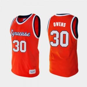 Alumni Billy Owens Syracuse Jersey Men's Orange College Basketball #30 842641-421