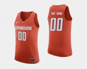 College Basketball Men's Syracuse Custom Jersey Orange #00 865537-514