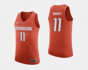 Oshae Brissett Syracuse Jersey College Basketball Men Orange #11 326282-550