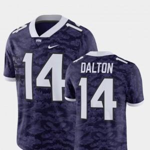 Purple For Men Player #14 Andy Dalton TCU Jersey Alumni Football Game 618276-410