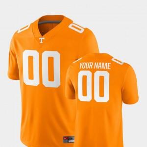 #00 Tennessee Orange UT Custom Jersey 2018 Game For Men College Football 229132-197