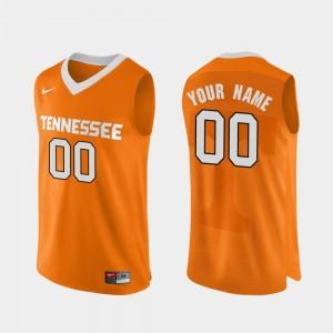 UT Custom Jersey College Basketball #00 Authentic Performace For Men's Orange 439011-408
