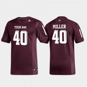 Von Miller Texas A&M Jersey Alumni Football Maroon For Men Replica #40 396980-290