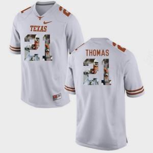 White Duke Thomas Texas Jersey Pictorial Fashion #21 For Men 179097-888