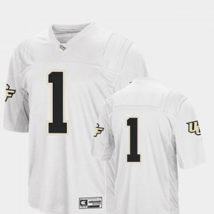 College Football White #1 Mens Colosseum UCF Jersey 344787-512