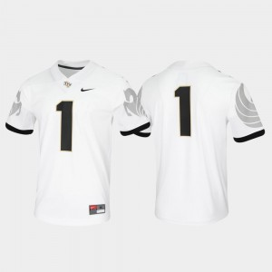 Game Untouchable #1 For Men UCF Jersey White 804242-967