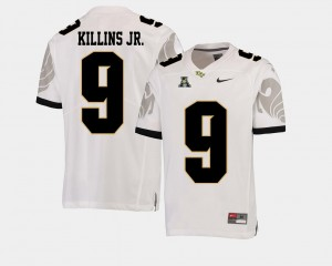 #9 White For Men College Football Adrian Killins Jr. UCF Jersey American Athletic Conference 800718-758
