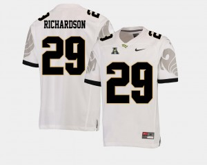 #29 White American Athletic Conference Cordarrian Richardson UCF Jersey Mens College Football 309411-632