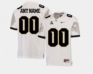 White College Football American Athletic Conference Mens UCF Customized Jersey #00 408252-540