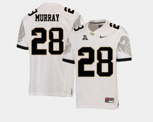 College Football White For Men's Latavius Murray UCF Jersey American Athletic Conference #28 498646-965