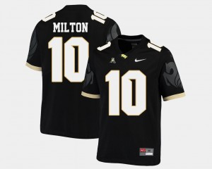 Black #10 Men Mckenzie Milton UCF Jersey College Football American Athletic Conference 141557-592