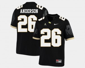 For Men College Football Otis Anderson UCF Jersey American Athletic Conference Black #26 181516-422