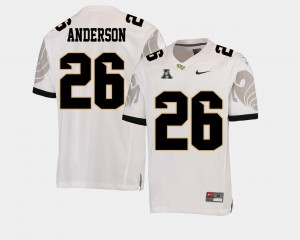 American Athletic Conference Otis Anderson UCF Jersey White College Football For Men's #26 564750-818