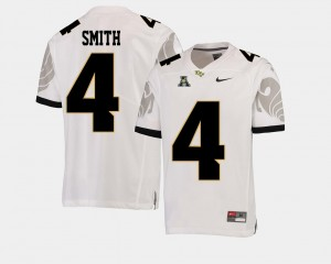 College Football #4 American Athletic Conference White Tre'Quan Smith UCF Jersey For Men 512454-414