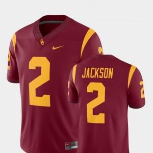 College Football For Men #2 Alumni Player Adoree' Jackson USC Jersey Cardinal 327893-435