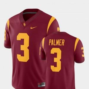 Alumni Player #3 College Football Cardinal For Men's Carson Palmer USC Jersey 182146-615