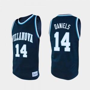 Mens #14 Navy Caleb Daniels Villanova Jersey College Basketball Alumni 690568-884