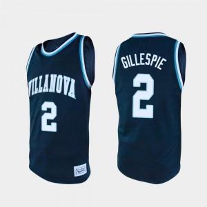 Navy Alumni #2 Mens Collin Gillespie Villanova Jersey College Basketball 539057-230