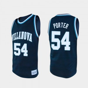 For Men's Alumni Howard Porter Villanova Jersey #54 Navy College Basketball 177243-154