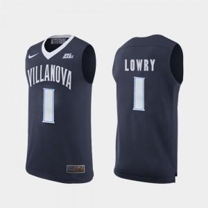Replica #1 Navy Kyle Lowry Villanova Jersey College Basketball For Men 564711-852