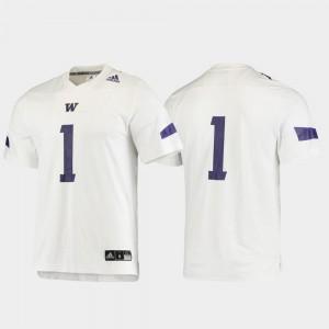 Football Washington Jersey Men #1 Replica White 664573-227