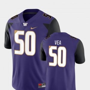 Vita Vea Washington Jersey #50 Men College Football Purple Game 579878-929
