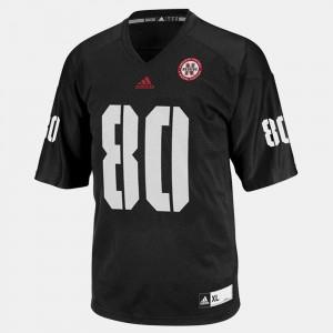 College Football Men Black Kenny Bell Nebraska Jersey #80 141850-678