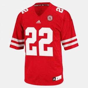 Men's Rex Burkhead Nebraska Jersey College Football Red #22 683657-889