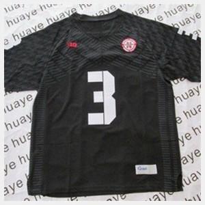 For Kids Black #3 College Football Taylor Martinez Nebraska Jersey 176757-273