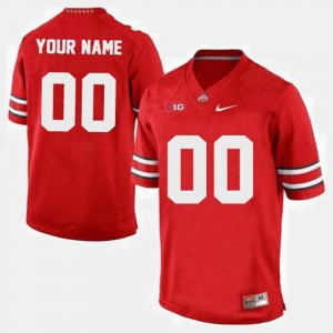 OSU Customized Jerseys #00 College Football Red For Men's 880900-830