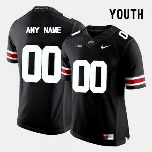 College Limited Football OSU Custom Jersey Youth(Kids) Black #00 588289-793