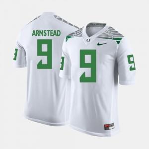 Arik Armstead Oregon Jersey #9 For Men's College Football White 811658-422