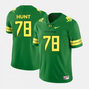 Green College Football #78 For Men Cameron Hunt Oregon Jersey 524070-602