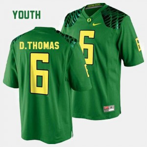 Green Youth College Football #6 De'Anthony Thomas Oregon Jersey 747512-691