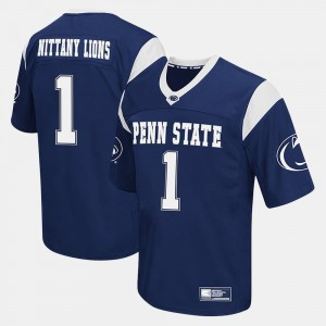 Navy Penn State Jersey College Football #1 Mens 594381-299