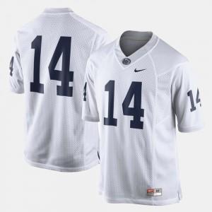 Men's College Football Penn State Jersey White #14 941450-118