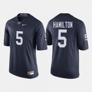 DaeSean Hamilton Penn State Jersey College Football Navy Men #5 729433-604