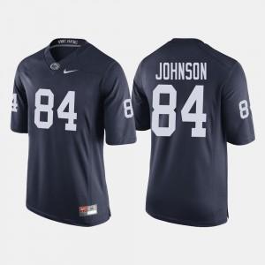 #84 College Football Juwan Johnson Penn State Jersey Navy For Men's 764711-196