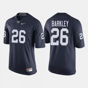 Men's College Football Saquon Barkley Penn State Jersey Navy #26 971986-454