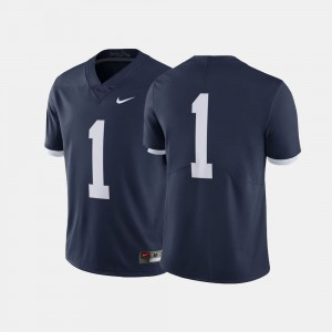 #1 Navy For Men's Penn State Jersey Throwback 715606-164