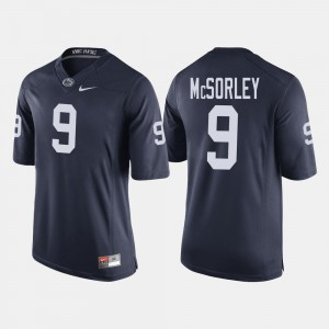 #9 College Football Navy Trace McSorley Penn State Jersey Men 131255-722