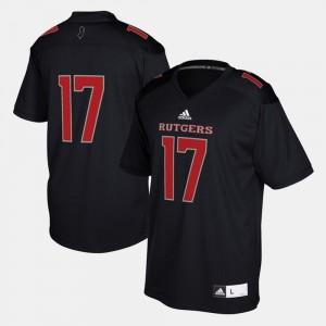 Mens Rutgers Jersey 2017 Special Games #17 Black 581158-208