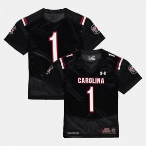 Black #1 South Carolina Jersey College Football Kids 908885-594
