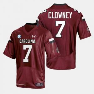 Cardinal #7 South Carolina Jersey College Football Men 546675-216