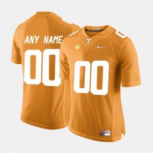 College Limited Football UT Customized Jersey Orange #00 Men's 959503-122