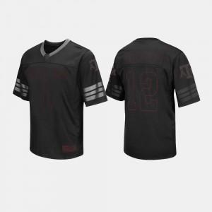 Mens Texas A&M Jersey College Football Black #1 453051-242