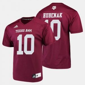 Jake Hubenak Texas A&M Jersey Maroon Men's #10 College Football 796345-493